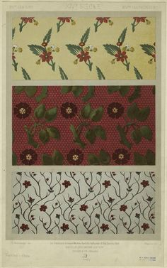NYPL Digital Gallery  Image ID: 825676  [Floral textile designs, 14th century.] (1877)