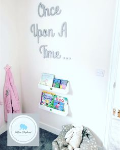 Once upon a time wooden sign. Perfect for a reading corner, playroom, baby nursery or bedroom. Available with a range of shapes to go around the wording. Nursery Signs, Nursery Decor, Girl Nursery, Nursery Ideas, Bedroom Decor, Disney Girls Room, Disney Rooms, Nursery Reading, Amber Room