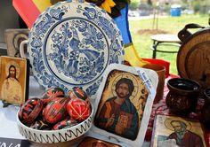 Uova dipinte per Pasqua (tradizione ortodossa in Romania)
