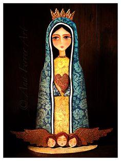 """""""Nuestra Señora de los Ángeles""""  by Ana Ferrer"""