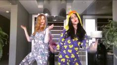 "Emeraude Toubia and Katherine McNamara Dance to Spice Girls' ""Wannabe"" Clary E Jace, Clary Fray, Shadowhunters Tv Show, Shadowhunters The Mortal Instruments, Katherine Mcnamara, Ian Somerhalder Photoshoot, Spice Girls Wannabe, Hunter Name, Cassandra Clare Books"