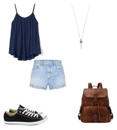 """""""~ONE~        O1"""" by marchbaby03 ❤ liked on Polyvore featuring GRLFRND, Gap, Converse and Marc Jacobs"""