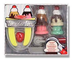 Slice and Scoop Sundae Set | Melissa and Doug Toys