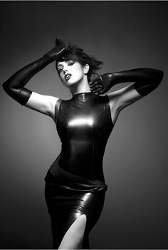 chic and edgy latex love