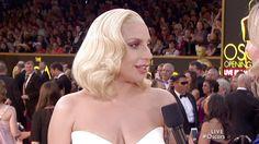 Lady Gaga- Oscars Red Carpet Arrivals #Oscars2016