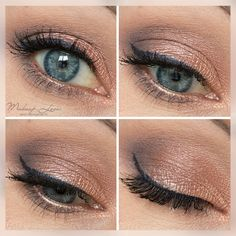 AMU | Rose Golden Eyes | ZOEVA Rose Gold Palette
