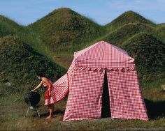 i can live as a tent