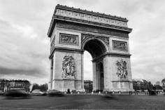 Tableau Paris - Toile Imprimée - Arc de Triomphe de l'Étoile