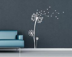 Dandelion Vinyl Wall Decal Vinyl Wall Art door CreativeExpressionsz