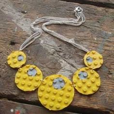 nice use of upcycled lego necklace Ultra One Believes in #Recycling Responsibly, and Keeping This Great World Safe, Green & Easier to #Clean! Order The Safer, Greener All-Purpose Cleaner & Degreaser Today! ultraoneclean.com