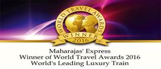 Maharaja Express has been awarded the World Travel Award 2016 in World's Leading Luxury Train category for Year in a row. World Winner, Norwegian Cruise Line, Train, Travel Ideas, Vacation Ideas, Holiday Ideas, Trains
