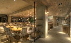 Λύσεις φωτισμού στο εστιατόριο ΓΗ στη Γλυφάδα - Νέα - Η Εταιρεία - B2C | Kafkas.gr