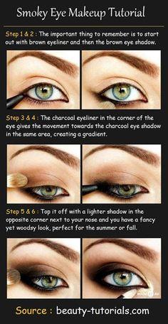 Smokey eyes tutorial