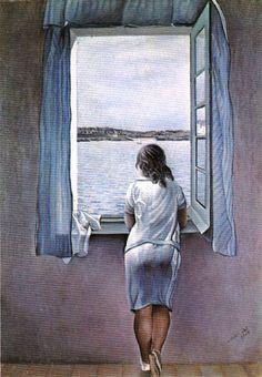 Figure at a Window, 1925 - Salvador Dali