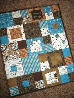 Western Themed Baby Quilts Western Baby Girl Quilts Free Western Baby Quilt Pattern Western Quilt Aww Love This Quilt Would Be Cute In Pastel Pink And Yellow Quilt Baby, Quilting Projects, Sewing Projects, Quilting Ideas, Western Quilts, Cowboy Quilt, Cowboy Quotes, Western Babies, Do It Yourself Inspiration