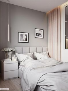 30 French Country Bedroom Design and Decor Ideas for a Unique and Relaxing Space - The Trending House Decoration Bedroom, Home Decor Bedroom, Modern Bedroom, Kids Bedroom, Bedroom Ideas, Master Bedroom, Small Space Interior Design, Woman Bedroom, My New Room