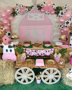 Petting Zoo Birthday Party, Farm Animal Birthday, Girls Birthday Party Themes, Farm Birthday, Birthday Party Decorations, Farm Party, Diy Bedroom, Farm Animals, Baby Shower