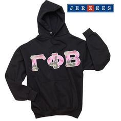 Gamma Phi Beta Sorority Jerzees Hooded Sweatshirt $35.99