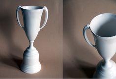 ceramic trophy by yellow owl workshop, $65