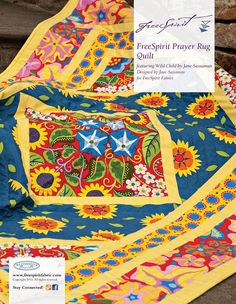 Wild Child Prayer Rug Quilt Kit -- For Friday's Fabric Giveaway!! by maureencracknell, via Flickr