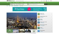 Tripadvisor - Travel - Search results -  The sorted results helps the user finding information he needs