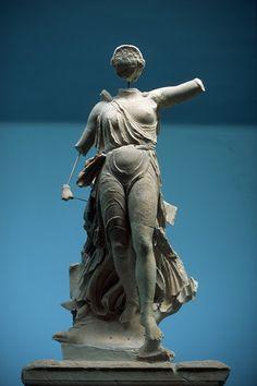 Nike of Peonios, Ancient Olympia Museum, Greece