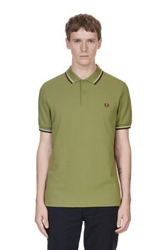 5850ea48 M3600 Fred Perry Shirt, Fred Perry Polo Shirts, Men's Collection, Long  Sleeve,
