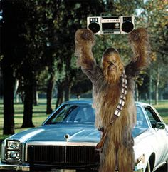 Wookie Say Anything Card by TheWorstShopEver on Etsy, $4.00