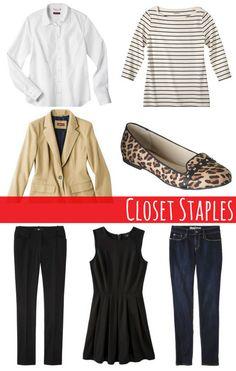New Year, New Closet: Closet Staples | Style on Target