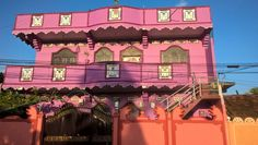 The Bright Pink House
