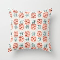 Buy Pineapple  by Basilique as a high quality Throw Pillow. Worldwide shipping available at Society6.com. Just one of millions of products available.