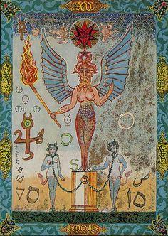 Kazanlar Tarot -- the Devil
