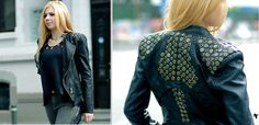 www.nff.ro Leather Jackets, Kimono Top, Blouse, Long Sleeve, Sleeves, Tops, Women, Fashion, Moda