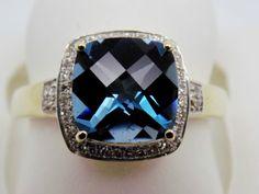 3-05-Cttw-Cushion-Cut-London-Blue-Topaz-and-Diamond-Halo-Ring-14k-316