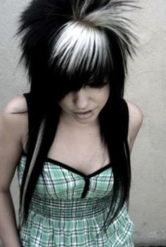 I remember my hair exactly this perfect.I kinda miss the old crazy days,but now I don't dig it.I'm more into the slightly teased hair,not spiked.