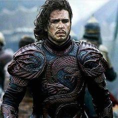 Jon Snow as a Jon Targaryen.