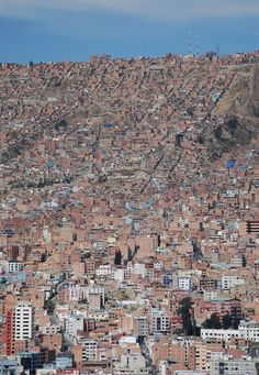 La Paz City | Bolivia (by Ian Gallagher)