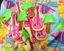 Teen Beach Movie Inspired Cookies handmade by Sprinkles Candy Cake Oh My on Etsy