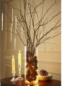Stress-Free Christmas Tips from Evelyn Eshun - That could make a nice Fall centerpiece too