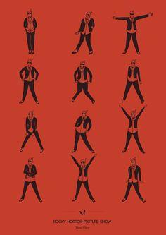 Dance moves - Time wrap , Rocky Horror Show (Niege Borges Alves)