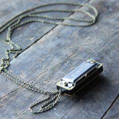 Halskette Harmonika Labradorit black, jewelry, necklaces