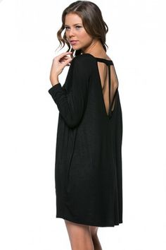 T-Back Jersey Dress [color options] – MADDOX