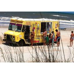 Listen for the sounds of the ice cream truck when vacationing at the beach this summer! www.turkeyhill.com