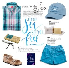 Let the sea set you free/The Lucky Knot by helenevlacho on Polyvore featuring Wild & Wolf, Southern Tide, Magdalena and theluckyknot