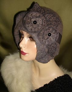 Wool felted and hand-dyed.    Slide Album: Berti Borrell Couture Hats - Berti Borrell - Picasa Web Albums