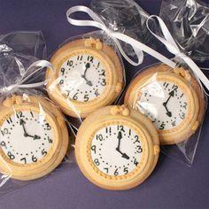 Pocket watch cookies
