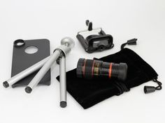 "8x Telephoto Lens Kit for iPhone 4/4S by Yamamoto Industries from Kurt ""CyberGuy"" Knutsson on OpenSky"