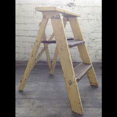 Farmhouse Step Ladder - $22.00