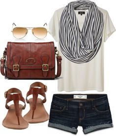 Great summer travel outfit