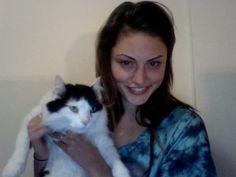 eu na webcam com o Yoshiro =[ RIP